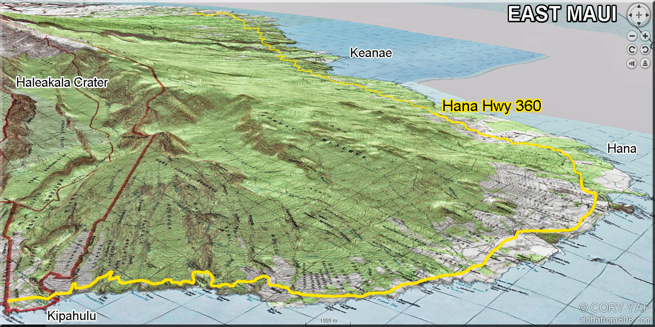 Looking Forward To Exploring Waterfalls In Maui Map Mauimap