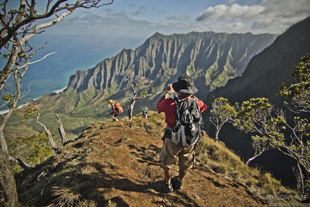 Kalepa Ridge Kokee Kauai Aloha From 808