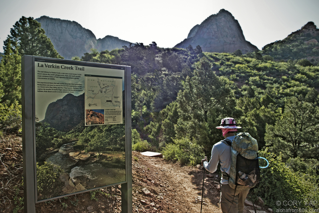 The Next Morning We Packed Our Gear For A Short 6 Mile 12 Roundtrip Backpacking Trip In Kolob Canyon In The Canyon Were A Couple Day Hikes Zion S
